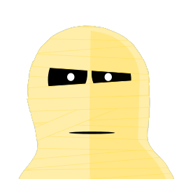 Mummy Tux Sticker