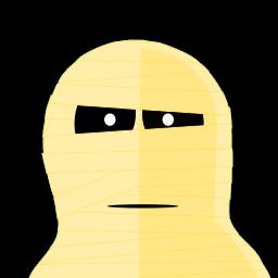 Mummy Tux Sticker