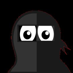 Ninja Tux Sticker
