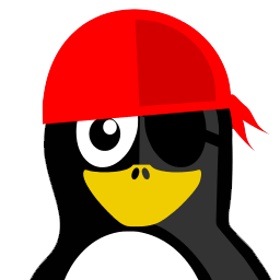 Pirate Tux Sticker