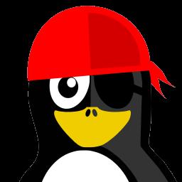 Pirate Tux Sticker