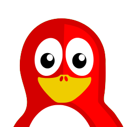 Red Tux Sticker