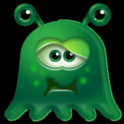 Monster Sick Sticker