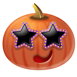 Pumpkin Stars Sticker