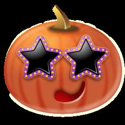 Pumpkin Stars Sticker
