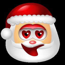 Santa Claus Adore Sticker