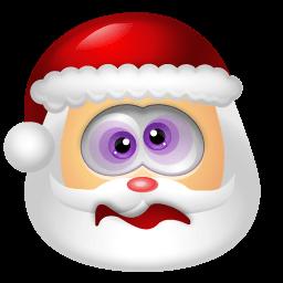 Santa Claus Dizzy Sticker