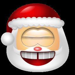 Santa Claus Laugh Sticker