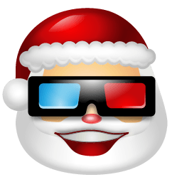 Santa Claus Movie Sticker