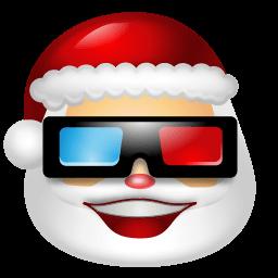 Santa Claus Movie Sticker