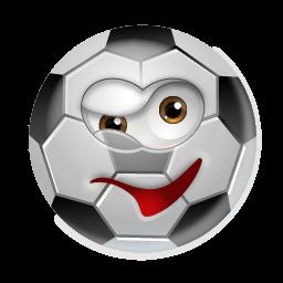 Soccerball Wink Sticker