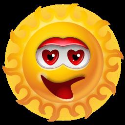 Sun Adore Sticker