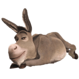 Donkey 2 Sticker