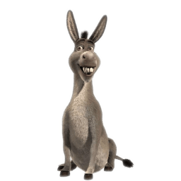 Donkey 3 Sticker
