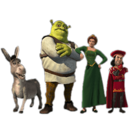 Shrek 3 Sticker