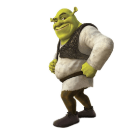 Shrek 4 Sticker
