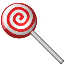 Candy Sticker