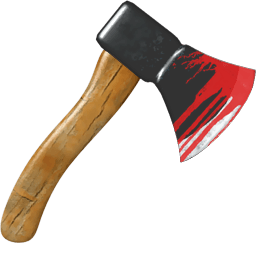 Hatchet Sticker