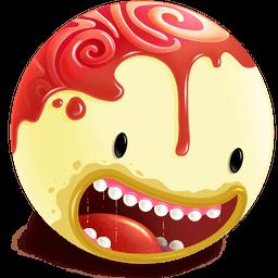Freaky Head Sticker