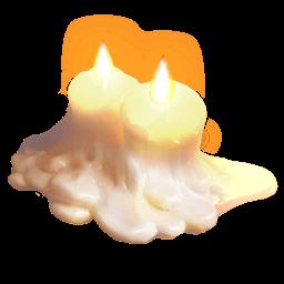 Candles Sticker