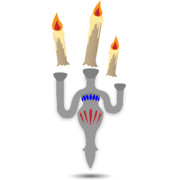 Floating Candles Sticker