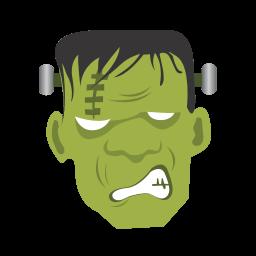 Frankenstein Monster Sticker