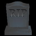 Rip Stone Sticker