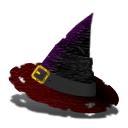 Witch Hat Sticker