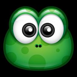 Green Monster 1 Sticker