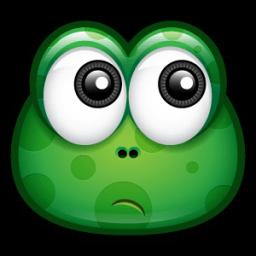 Green Monster 12 Sticker