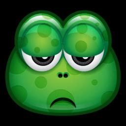 Green Monster 17 Sticker