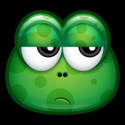 Green Monster 24 Sticker