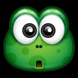 Green Monster 6 Sticker