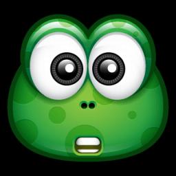 Green Monster 7 Sticker