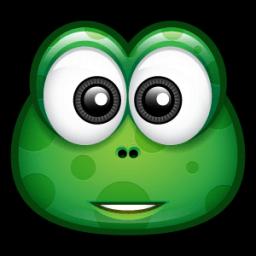 Green Monster 8 Sticker
