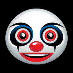 Clown Sticker
