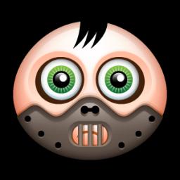 Mask 4 Sticker