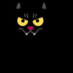 Cat Vampire Sticker