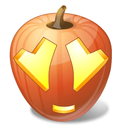 Pumpkin Adore Sticker