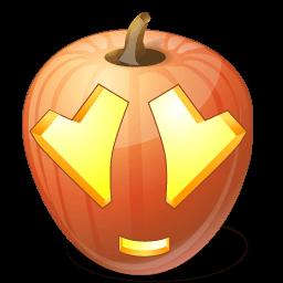 Pumpkin Adore Sticker