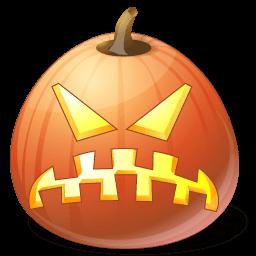 Pumpkin Angry Sticker