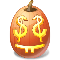 Pumpkin Easymoney Sticker