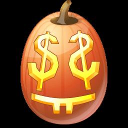 Pumpkin Easymoney Sticker