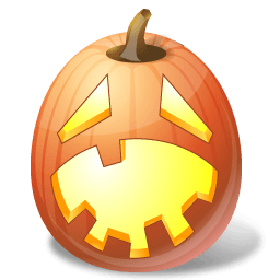 Pumpkin Hysterical Sticker