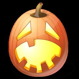 Pumpkin Hysterical Sticker