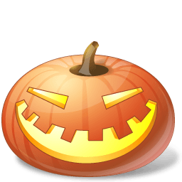 Pumpkin Laugh Sticker