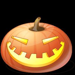 Pumpkin Laugh Sticker