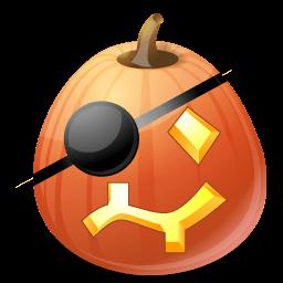 Pumpkin Pirate Sticker