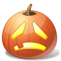 Pumpkin Sad Sticker