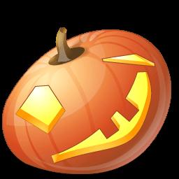 Pumpkin Wink Sticker
